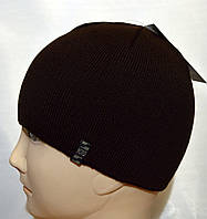 Мужская вязаная шапка без флиса