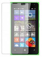 Защитное стекло 2.5D для Microsoft 435 Lumia (0.3mm, 2.5D, с олеофобным покрытием)