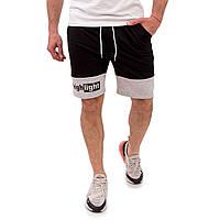 Тканевые мужские летние шорты. Шорты мужские Черные.  Шорты High