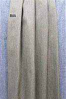 Декоративная ткань однотонная серо-бежевая Н 2,85 м