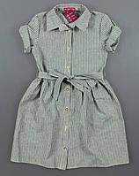 {есть:134,140,146,152} Платье-рубашка Likee для девочек,  Артикул: MA425