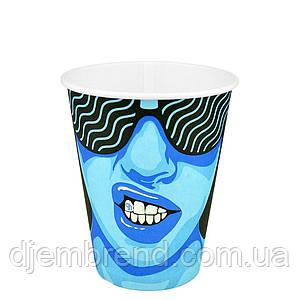 "Стакан бумажный ""#CoffeeParty"" 400мл. 50шт/уп (КР91/РОМБ91)"