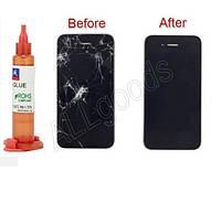 Полимер для ремонта трещин лобового стекла, экрана (R3-10ml)