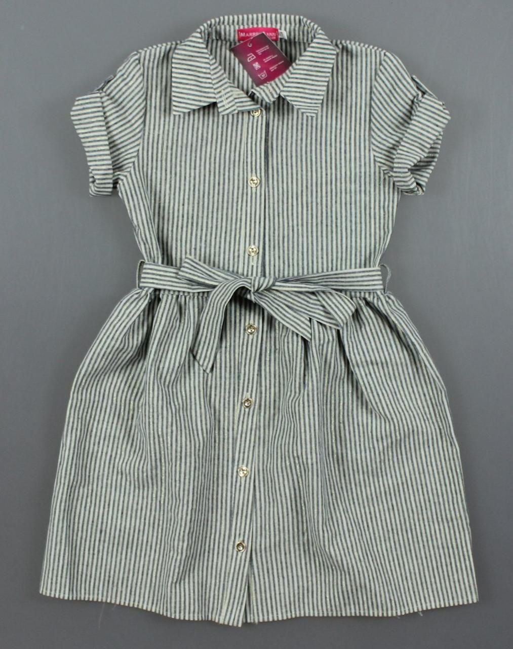 {есть:134,140,146,152} Платье-рубашка Likee для девочек,  Артикул: MA425 [146]
