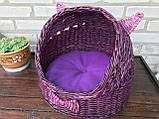 Плетений будиночок для котів (подушка в подарунок), фото 2