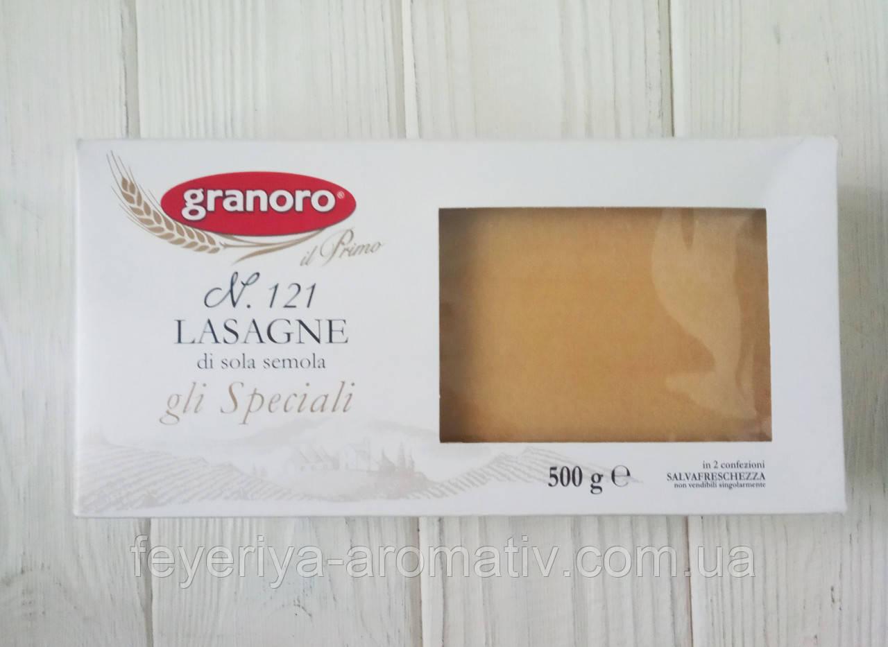 Листы для лазаньи Granoro Lasagne di sola semola gli Speciali 500 г