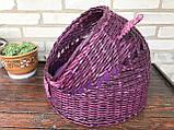 Плетений будиночок для котів (подушка в подарунок), фото 8