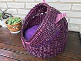 Плетений будиночок для котів (подушка в подарунок), фото 4