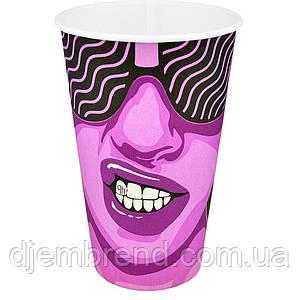 "Стакан бумажный ""#CoffeeParty"" 500мл. 35шт/уп (КР91/РОМБ91)"