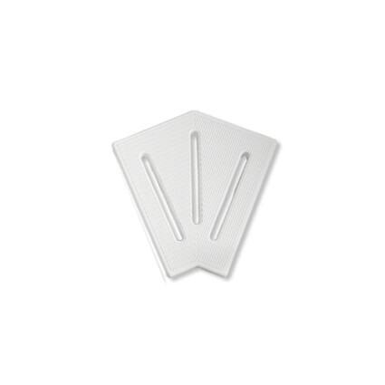 Aquaviva Угловой элемент AquaViva KK-30-2 Classic для переливной решетки 45° 295/25 мм (белый)