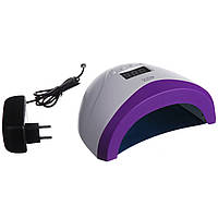 Лампа для маникюра SUN 1S 48W UV/LED с дисплеем сушки гель лака на 2 руки (для манікюру, сушки лаку)