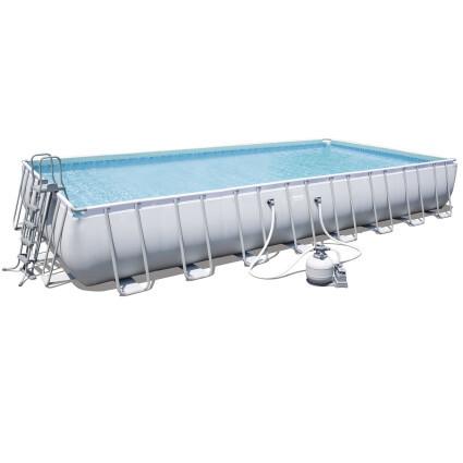 Bestway Каркасный бассейн Bestway 56623 (956х488х132) с песочным фильтром