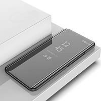 Чехол Mirror для Samsung Galaxy C8 SM-C7100 книжка зеркальный Black