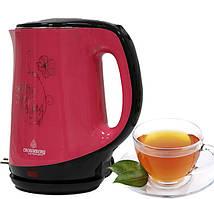 Электрический чайник Crownberg CB 2842 Розовый
