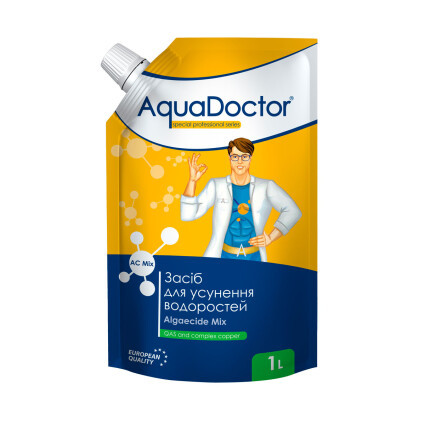 AquaDoctor Альгицид AquaDoctor AC MIX 1 л. дой-пак