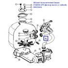 Emaux Шланг подключения Emaux FSB500-6W фильтр-насос (с гайкой) 89033001, фото 2