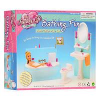 Мебель для ванной комнаты Bathing Fun в кукольный домик Барби