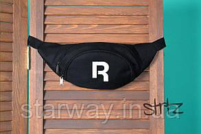 Бананка стильная в стиле Reebok логотип принт