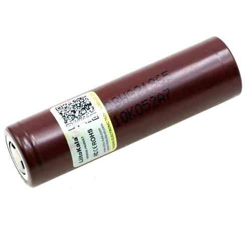 Li-ion аккумулятор 18650 высокотоковый 3.6В 3000мАч 20А Liitokala HG2