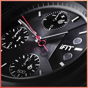 Часы фитнес-браслет iFit Classic (черный), мужские