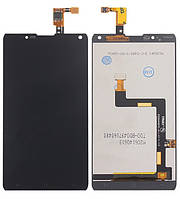 Дисплей (модуль) для Prestigio MultiPhone 7505 Grace X7 Черный