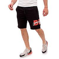 Тканевые мужские летние шорты. Шорты мужские Черные. Шорты Be Yourself 608A-3-BY, фото 1