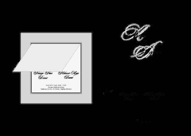 Стандартные размеры пригласительных открыток, именинами