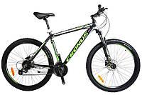 "Cronus Велосипед Cronus Future Рама 27.5""19.5"" Чёрный-Зелёный-Белый"