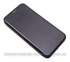 Книж Ulefon Note 7P/S11 темно синя Premium Leather