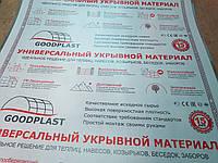Поликарбонат прозрачный GOOD PLAST 8 мм (лист 6 х2,1 м2)