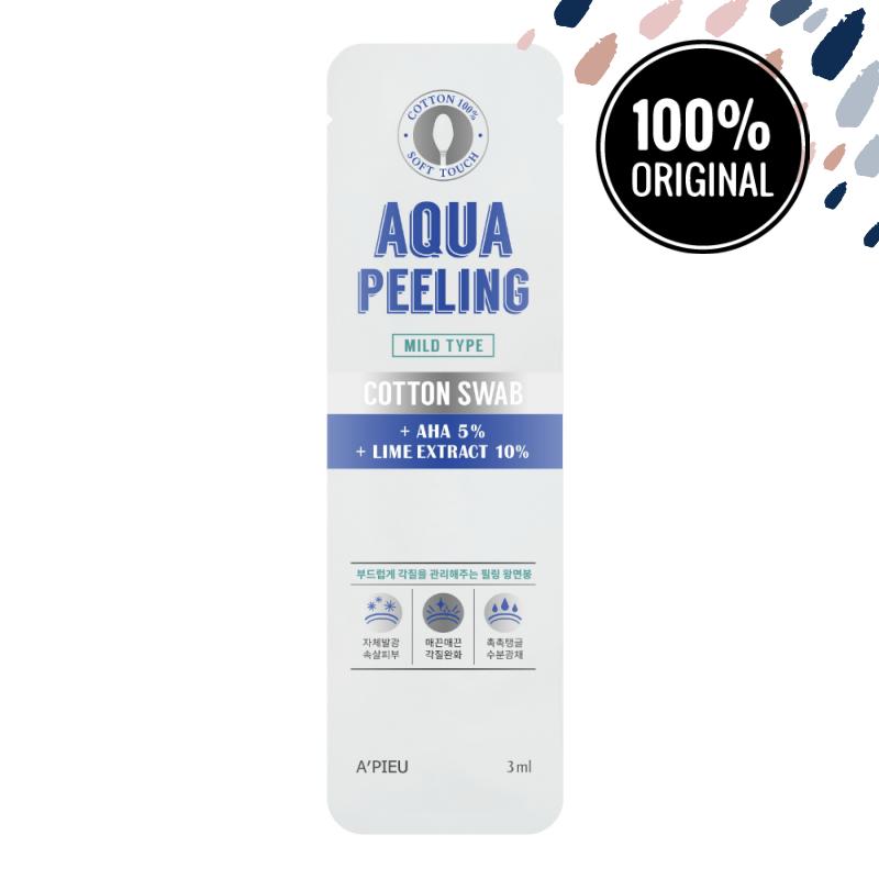 Паличка-пілінг A'PIEU Aqua Peeling Cotton Swab