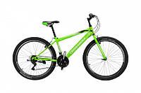 """CrossBike Велосипед Cross Ranger V 26""""15"""" Неоновый Зелёный-Серебро"""