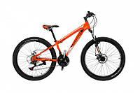 "CrossBike Велосипед Cross Shark 26""13"" Оранжевый-Чёрный-Белый"