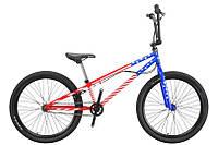 """TitanBike Велосипед Titan BMX ENDO 24""""20,5"""" Красный-Синий-Белый"""