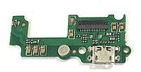 Разъем зарядки для Huawei Y5 ll (CUN-U29, с платкой)