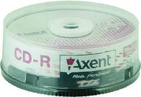 Axent CD-R 700MB / 80min 52X, 10 шт, торт 8105-A