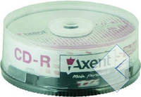 Axent CD-R 700MB / 80min 52X, 25 шт, торт 8104-A