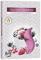 Свеча чайная ароматизированная Bispol замороженные ягоды 1.5 см 6 шт (p15-314)