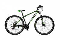 "TitanBike Велосипед Titan Infinity 29""17"" Чёрный-Зелёный-Белый"