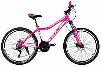"TitanBike Велосипед Titan Milano 26""16"" Розовый-Белый"