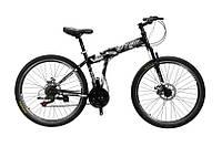 """Самокаты Велосипед Titan Solider 26""""17"""" Хаки-Серый"""
