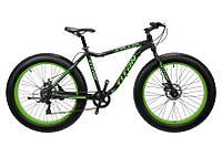 "TitanBike Велосипед Titan Stalker 26""17"" Чёрный-Зелёный"