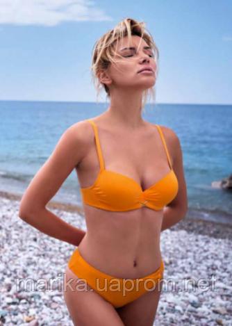 Купальник яскраво помаранчевий