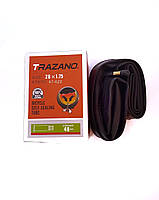 """Камера TRAZANO 28"""" ×1.75 с антипрокольным гелем, самоклейка (C28)"""