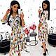 Платье-миди с цветочным принтом, фото 6