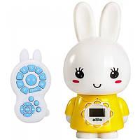 Интерактивная музыкальная игрушка плеер для малышей Alilo Honey Bunny G7 Желтый (MS 1619)