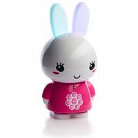 Интерактивная музыкальная игрушка плеер для малышей Alilo Honey Bunny G6x Розовый (MS 2019)