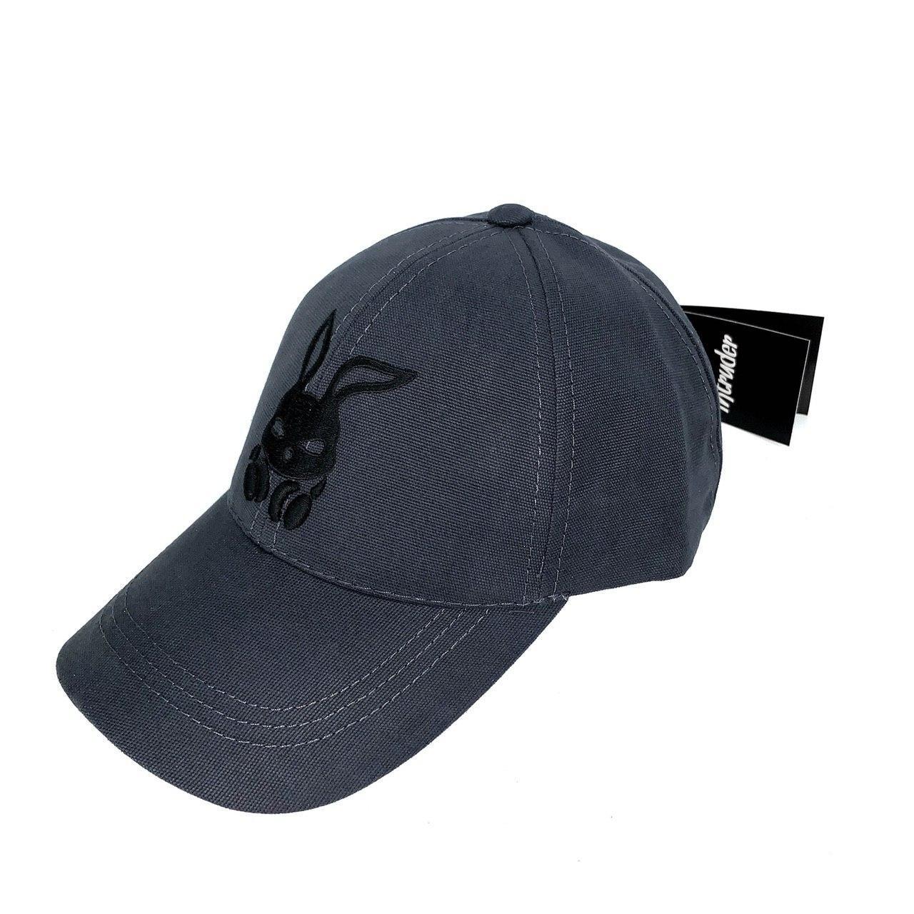 Кепка Intruder мужская | женская серая брендовая + Фирменный подарок
