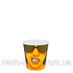 """Стакан бумажный """"#CoffeeParty"""" 110мл. 50шт/уп"""