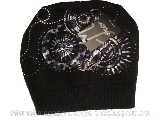 Женская шапка вязанная